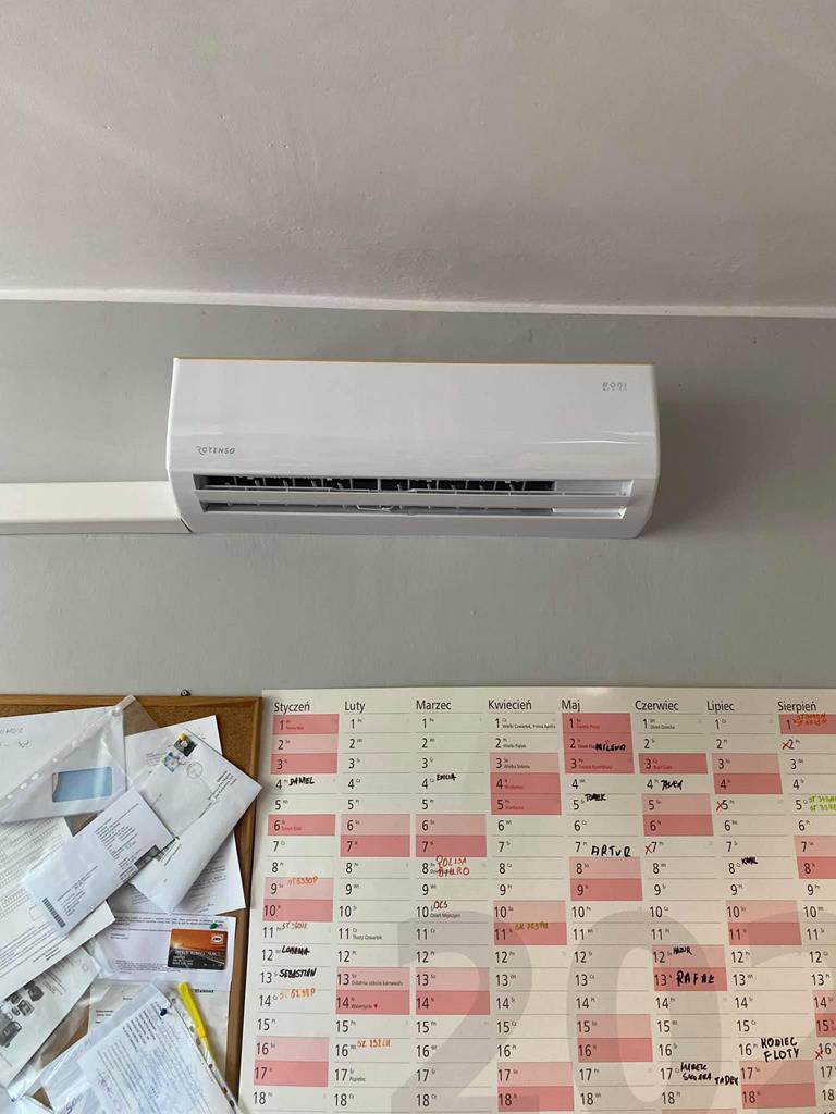 montaż klimatyzacji Gliwice firma transportowa
